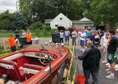 Chris Craft Boat Auction